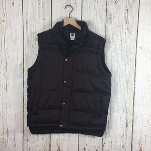 Gap Men's Brown Puffer Vest